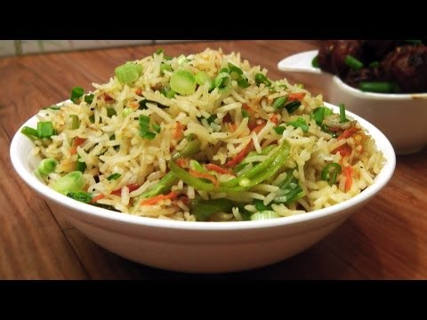 Quick Fried Rice - Indo Chinese Cuisine - Gets ready in 2 mins!