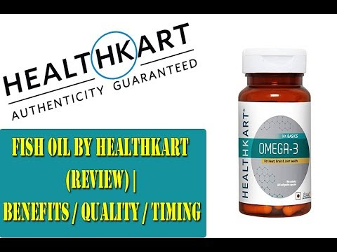 Fish Oil by Healthkart (REVIEW) | Benefits / Quality / Timing | tips HINDI