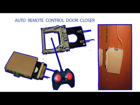 How to make RC Automatic Door Lock System (Home Made)