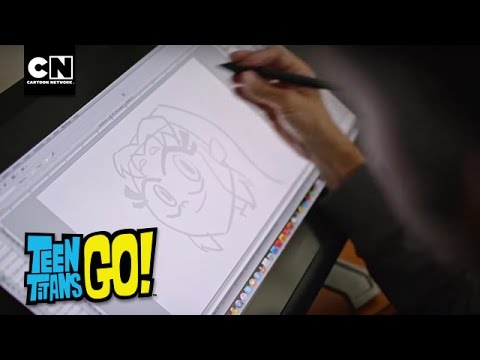 Draw With Me: Teen Titans GO! | Tips for Drawing Cartoons | Cartoon Network