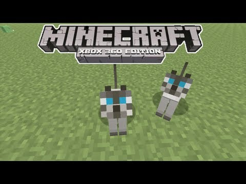 Minecraft Xbox 360 - How to Tame OCELOTS/CATS (Title Update 12)