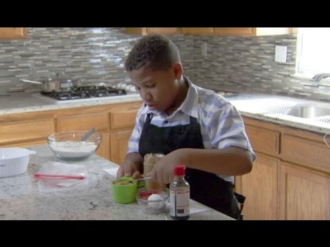 Boy Opens Bakery to Buy Mom a New House
