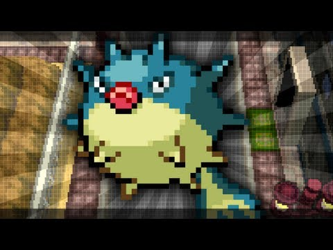 How & Where to catch/get - Qwilfish in Pokemon Black 2 & Pokemon White 2