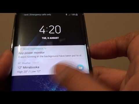 Samsung Galaxy S8: How to Enable / Disable Screen Lock Sound