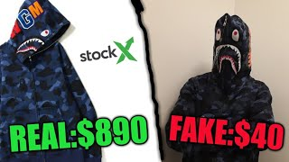 I BOUGHT A FAKE BAPE HOODIE FROM AMAZON - Worst decision of my life :(