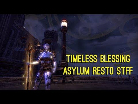 Timeless Blessing Asylum Resto Staff - Clockwork City DLC