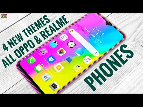 Oppo & Realme New Four Themes