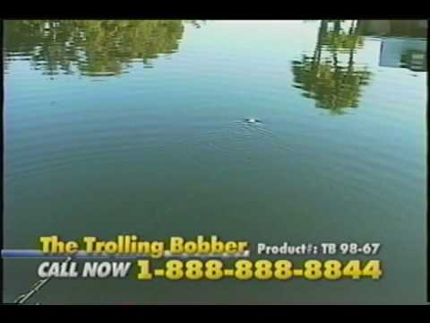 Commercial of a Self Propelled Fishing Bobber, The Trolling Bobber.
