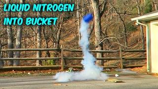 Will This Bucket Survive Liquid Nitrogen?