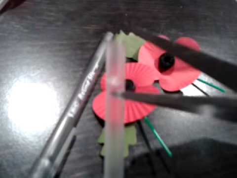 Remembrance 🌅Day Poppy Holder for 2014 - 2017 *Construct