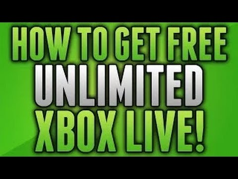 How to Get Unlimited Xbox Live for Free! (2017 WORKING)