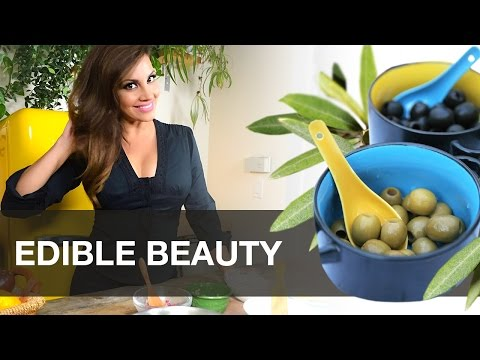 EDIBLE BEAUTY: Glowing Skin with Greek Olives - DIY Skincare