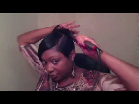 Short Hair Tutorial - How to style short hair - Back Flips