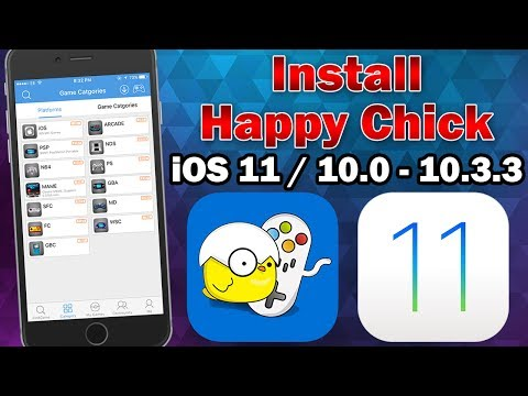 How to Install Happy Chick Multi-Emulator on iOS 11.0 - 11.2.5 (No Jailbreak / No Computer)