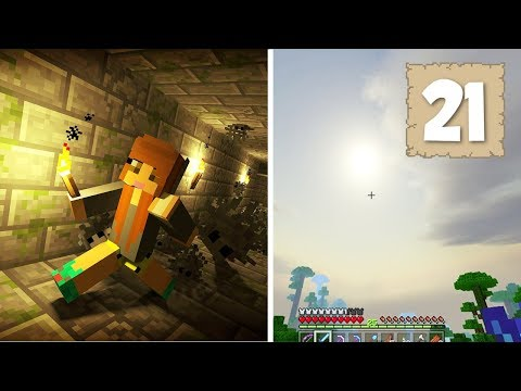 REALISTIC SKIES?! &  FINDING THE END! - Survival Let's Play Ep. 21 - Minecraft 1.2.3