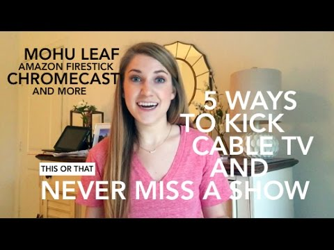 Best Cable TV Alternatives || This or That