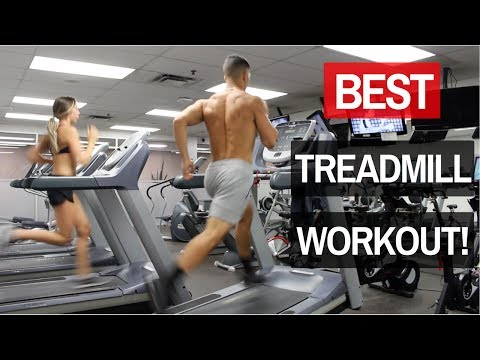 The BEST Treadmill Sprints Workout to Burn Fat Quickly (HIIT Training)