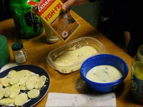 DirtyPaPas Easy Fried Pickles Part 1