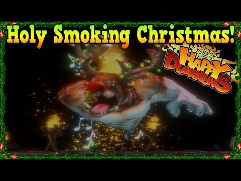 Holy Smoking Christmas Event Dungeons! [Happy Dungeons]