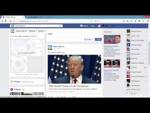 How to get facebook post URL Quick way