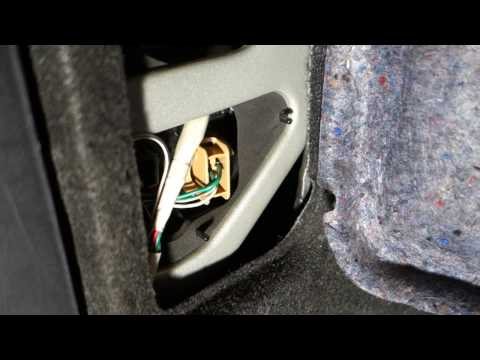 How to replace Toyota Camry brake light bulb 2002 to 2010