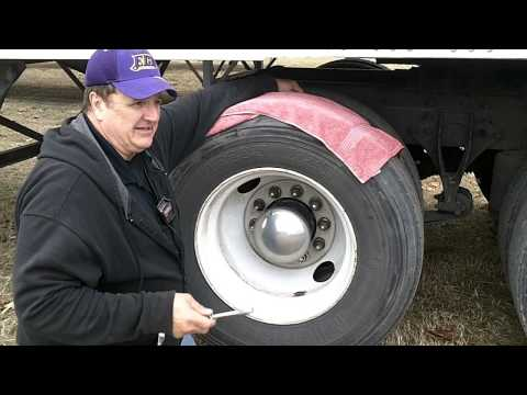 Tractor And Trailer tire pressure