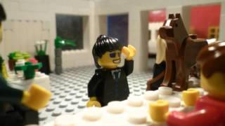 The Room Flower Shop Scene in Lego