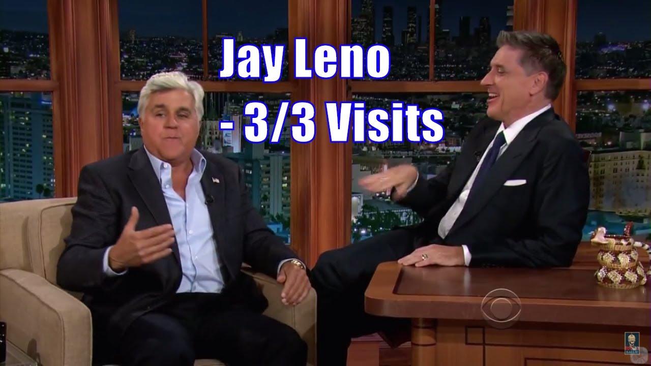 Jay Leno & Craig Ferguson Talking Their Scottish Mothers - 3/3 Visits In Chronological Order