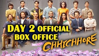 CHHICHHORE DAY 2 OFFICIAL Box Office Collection | Sushant Singh Rajput, Shraddha Kapoor