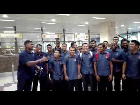 Malaysian Cricket Team Arrived Pakistan