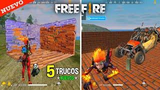 5 Trucos* Con Pistolas De Ganchos Y Granadas De Ladrillos En Free Fire - Nuevos Trucos🥰