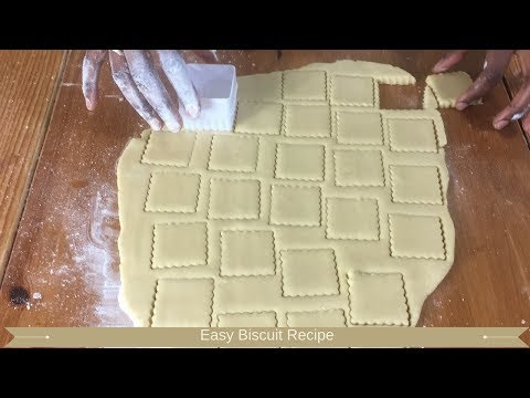 Easy biscuit recipe : Biscuits from scratch