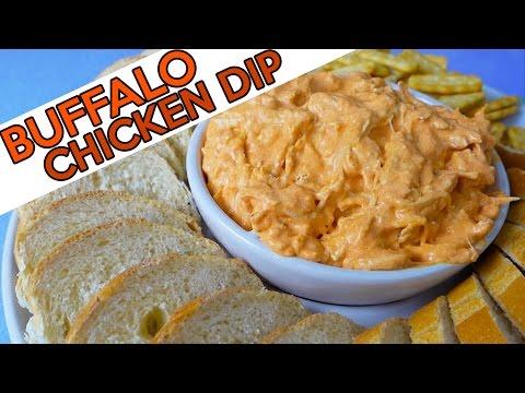 DELICIOUS BUFFALO CHICKEN DIP! | Home Plates