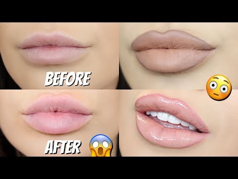 TOP 4 HACKS for bigger lips naturally | How to Make your lips look plumped