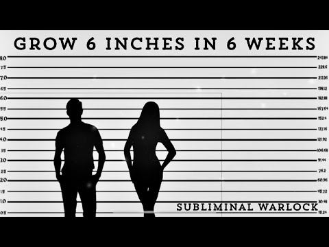 Grow 6 inches in 6 weeks! WARNING - EXTREMELY POTENT!  HYPNOSIS SUBLIMINAL WARLOCK!