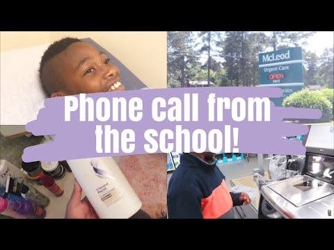 Call from School, Pink Eye, Allergies    Day In The Life of a Working Mom    Daily Vlogs