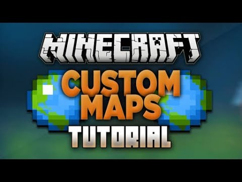 HOW TO DOWNLOAD CUSTOM MAPS IN MINECRAFT PE |