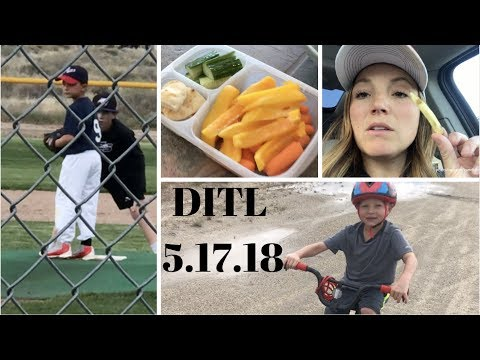 DITL | 5.17.18 | Home- FINALLY! Settling back into life!