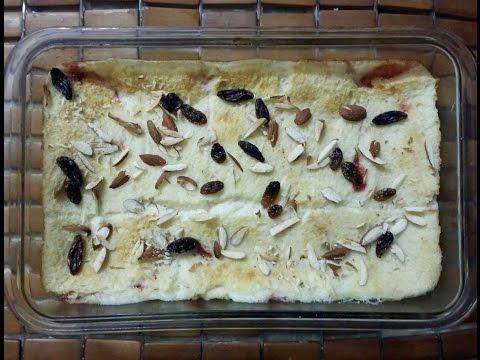 Jam Bread Pudding