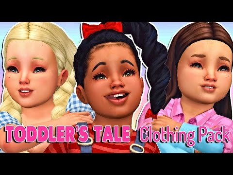 The Sims 4 Toddler's Tale Clothing Pack + Full CC List