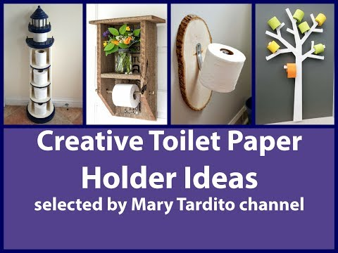 Creative Toilet Paper Holder Ideas