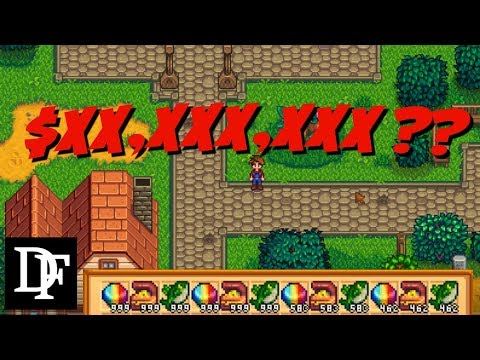 How Much Money CAN You Make On The First Day? - Stardew Valley