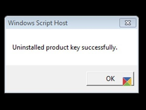 How To Uninstall Windows 7 Product Key