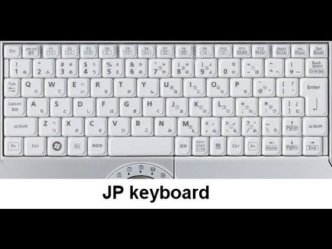 How to Change Japanese layout keyboard to English on Japanese laptops and type either