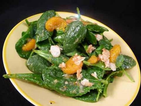 Spinach Salad with Mandarin Oranges Recipe
