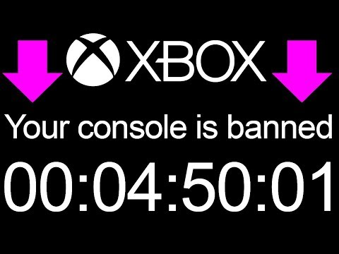 Xbox CONSOLE BAN Speed Run! - WTF WATCH! (Xbox Console Banned)