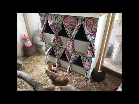 Rollout Nesting Box