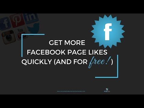 Get more Facebook Page likes quickly and for free