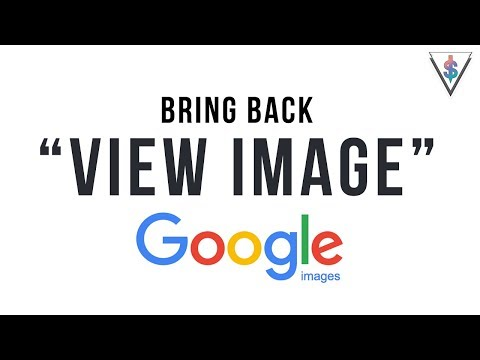 """How to easily bring back the """"View Image"""" button on Google Images 🇱🇰"""