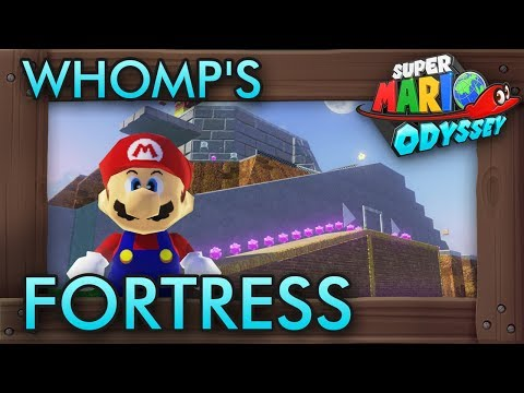 I Recreated Whomp's Fortress In Mario Maker 2! [Amazing